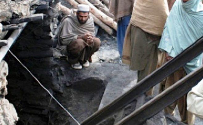 ۱۲ کشته بر اثر ریزش معدن در پاکستان