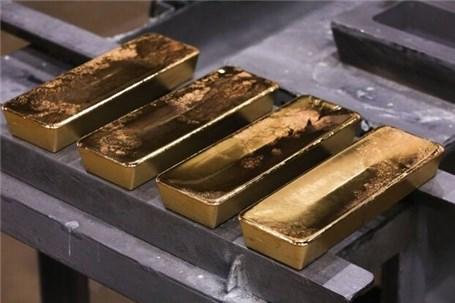 سقوط سنگین طلا