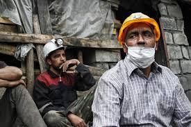 سنگ بزرگ استعلام پیش پای معدنکاران