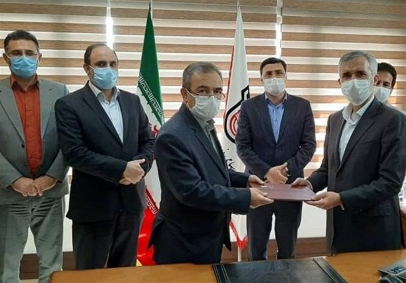 امضای تفاهم نامه فروش ۹۰هزار تن ریل بین ذوبآهن و خاتمالانبیا
