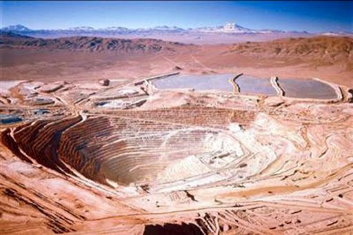 سوءاستفاده معدن مس اسکوندیدا شیلی از منابع آب