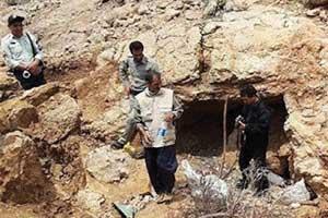 توقیف ۹۱ تن سنگ معدن غیرمجاز در اسفراین