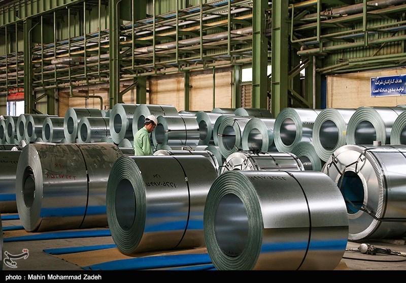 افزایش تولید  فولاد خام و محصولات فولادی