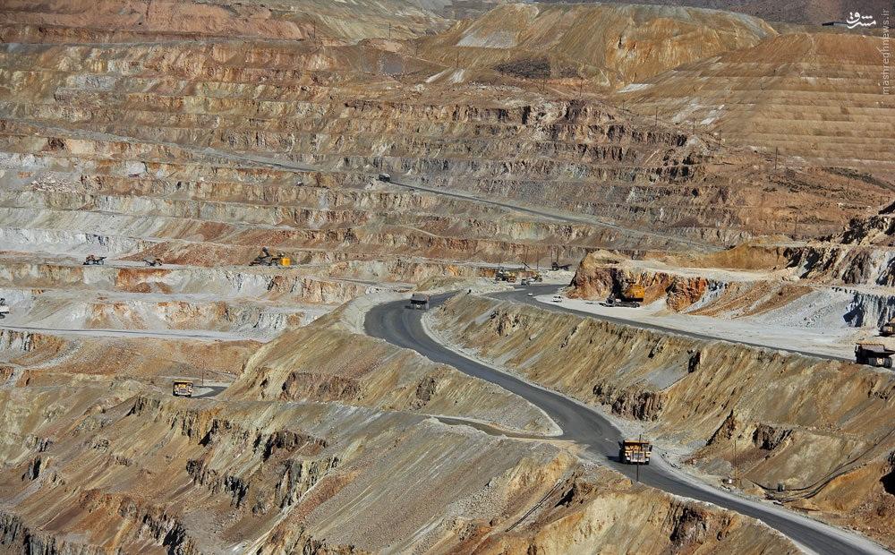 ایران ۵۵میلیارد تن دارایی معدنی دارد