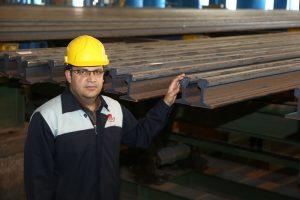 تولید ریل ملی مطابق با استانداردهای جهانی