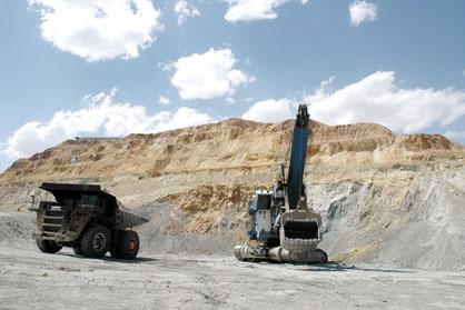 ونارچ قم بزرگترین معدن منگنز کشور است