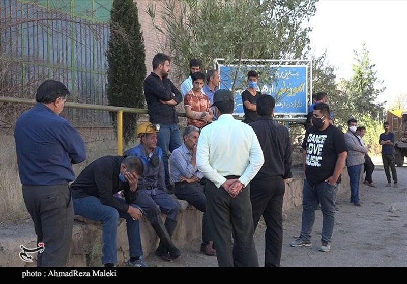 گزارش تصویری از حال و هوای معدن ذغال سنگ هجدک کرمان پس از حادثه