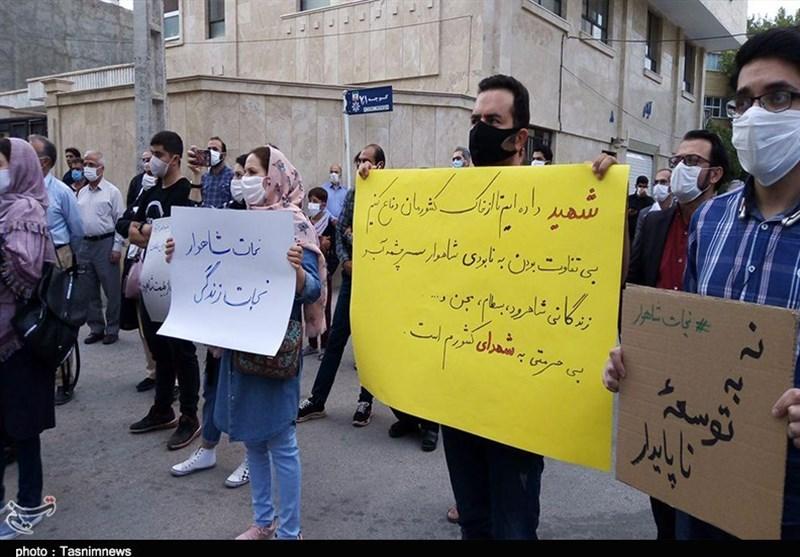 ادامه اعتراضات به فعالیت مجدد معدن بوکسیت تاش در شاهرود