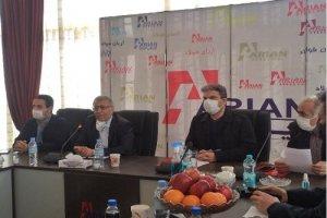 افتتاح خط اکسیژن پلنت و کارخانه ذوب آریان فولاد با حضور وزیر صمت