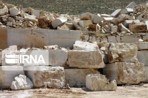 سهم 25 درصدی سنگ های تزئینی از تولیدات معدنی