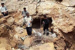 کشف و ضبط ۵ تن سنگ معدنی سرب در اسفراین