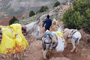 حفاظت از معدن اسفراین چشم انتظار تیم حفاظتی ایمیدرو
