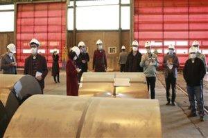 بازدید شرکتهای دانشبنیان از فولاد مبارکه