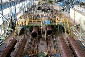 تولید شبانهروزی لولههای قطور فولادی در شرکت لوله سازی ماهشهر سدید
