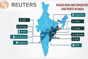 عدم تاثیر کرونا بر تولید سنگ آهن هند