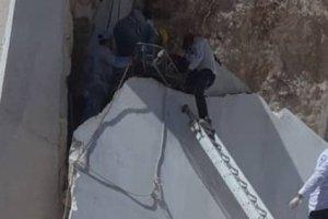 ریزش سنگ در معدن مرمریت خوسف یک کارگر را مصدوم کرد