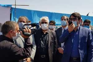 ساخت جاده بهاباد به دربند یزد کلید خورد