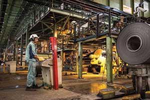 تولید فولاد ۸/۵ درصد افزایش یافت