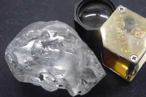 کشف الماس 18 میلیون دلاری