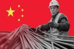 کاهش تولید روزانه فولاد در چین